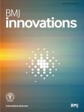 BMJ Innovations: 4 (1)