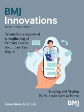 BMJ Innovations: 7 (3)